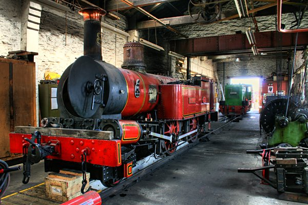 Steam Railway Workshops, Douglas